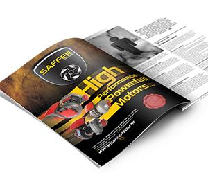 Saffer Turbo Charger Dergi Reklamı Tasarımı