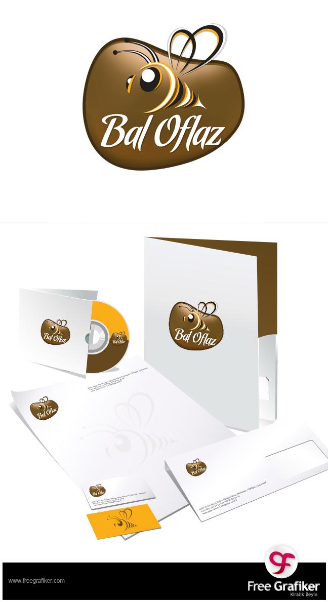 Bal Oflaz Logo ve Kurumsal Kimlik Tasarımı