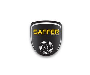 saffer turbo charger logo tasarim