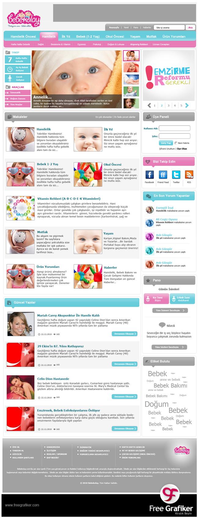 Bebekolay.com WordPress Site Tasarımı