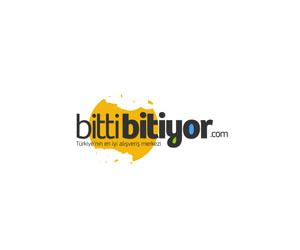 Bittibitiyor.com fırsat sitesi logo tasarımı