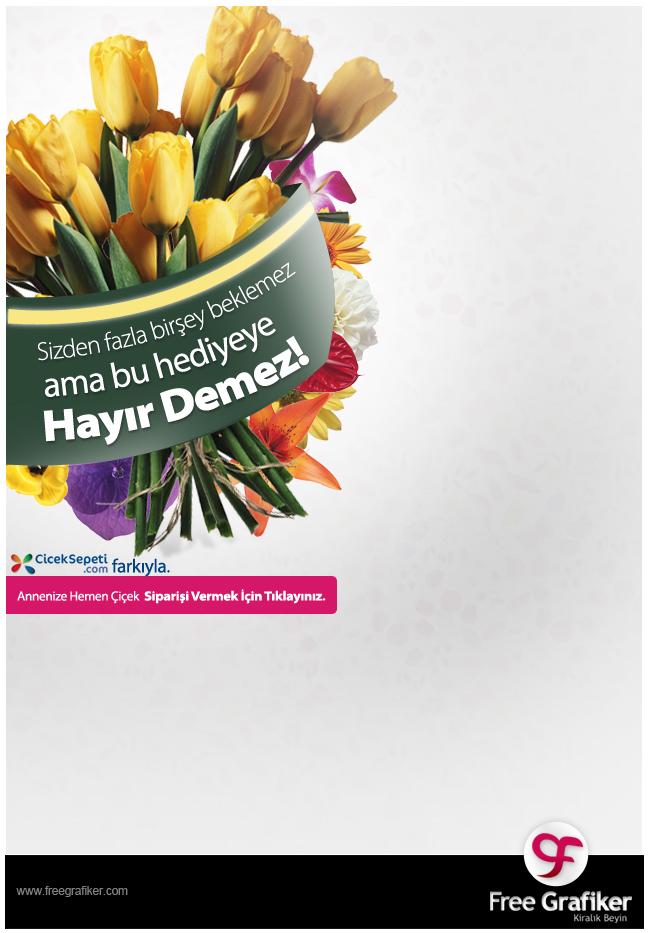 Cİceksepeti.com Page Skin Reklam