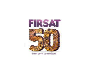 Fırsat 50 Logo Tasarımı