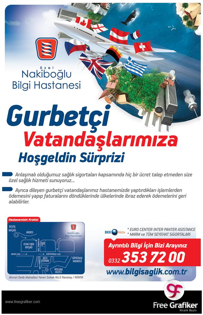 Hastane Dergi Reklamı