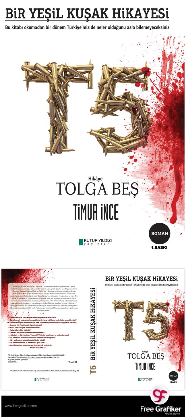 T5 Kitap Kapağı tasarımı