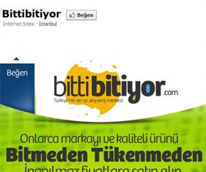 Bittibitiyor.com facebook sayfa tasarımı