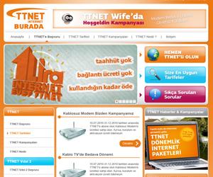 Ttnetburada.com web arayüz tasarımı