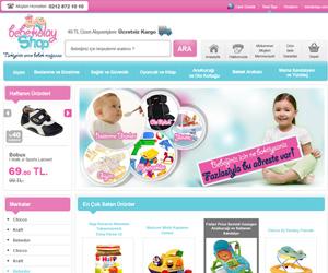Bebekolayshop.com e ticaret sitesi tasarımı