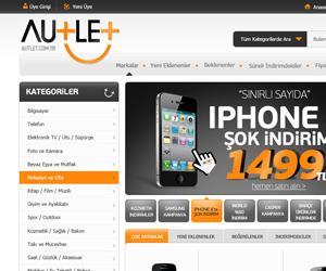Autlet.com.tr E Ticaret Sitesi Tasarımı