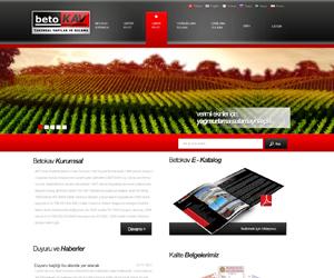 Betokav Sulama Web Sitesi Tasarım