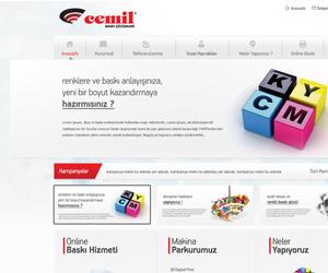 Cemil Copy Kurumsal Site Tasarım