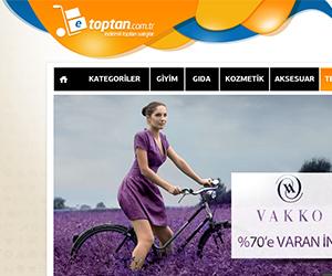 Etoptan.com.tr E Ticaret Sitesi Tasarım