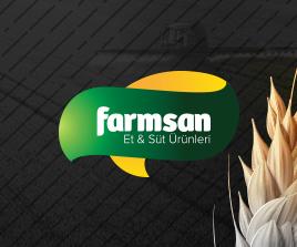 Farmsan Et ve Süt Ürünleri Logo Tasarım