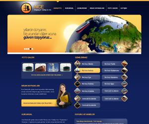 İnce Deniz Web Sitesi Tasarım