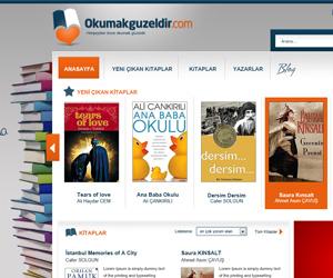 Okumakguzeldir.com Web Sitesi Tasarım