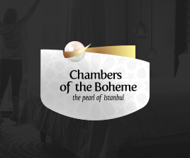 Chambers Of The Boheme Hotel Logo Tasarım