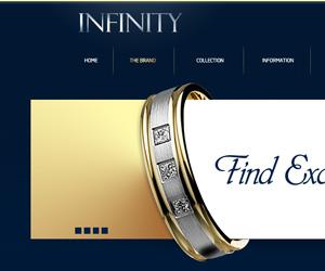 Infinity Kuyumculuk Web Sitesi Tasarım