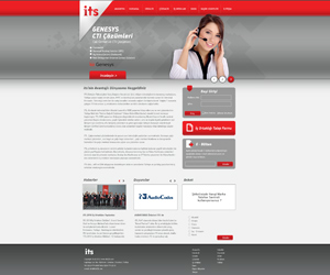 its telekom web sitesi arayuz tasarim