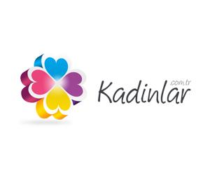 Kadinlar.com.tr Kadın, Moda ve Yaşam Logo Tasarım