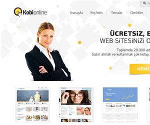 kobi online web sitesi tasarim