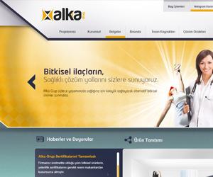 Alka Grup Kurumsal Web Sitesi Tasarımı