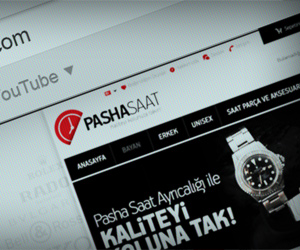Pasha Saat E Ticaret Arayüz Tasarımı