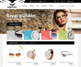 Eagle Eyes E Ticaret Sitesi UI Design