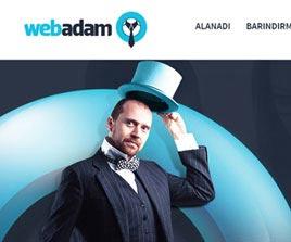Webadam Hosting Sitesi Arayüz Tasarımı