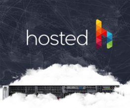 Hosted Hosting Sitesi Arayüz Tasarımı