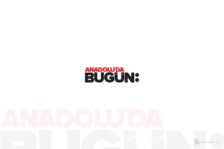 Anadoluda Bugün Gazetesi Logo Tasarım