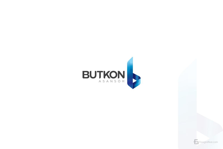 Butkon Asansör Logo Tasarım