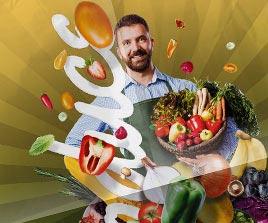 Harvest Natural Market Afiş Tasarımları
