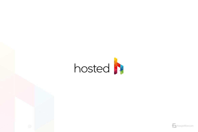 Hosted Hosting Logo Tasarım