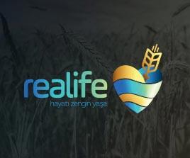 Realife Diyabetik ve Diyet Un Logo Tasarım