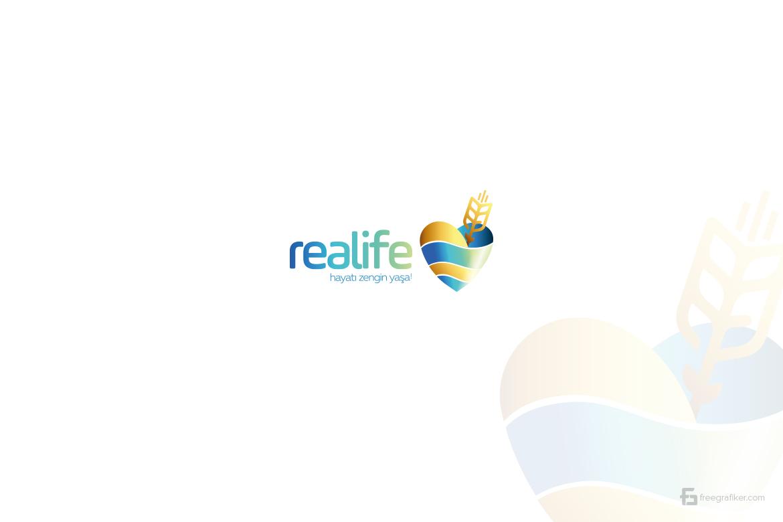 Realife Diyabetik Un Logo Tasarım