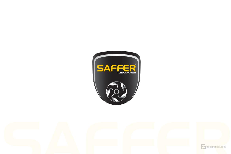 Saffer Turbo Charger Logo Tasarım