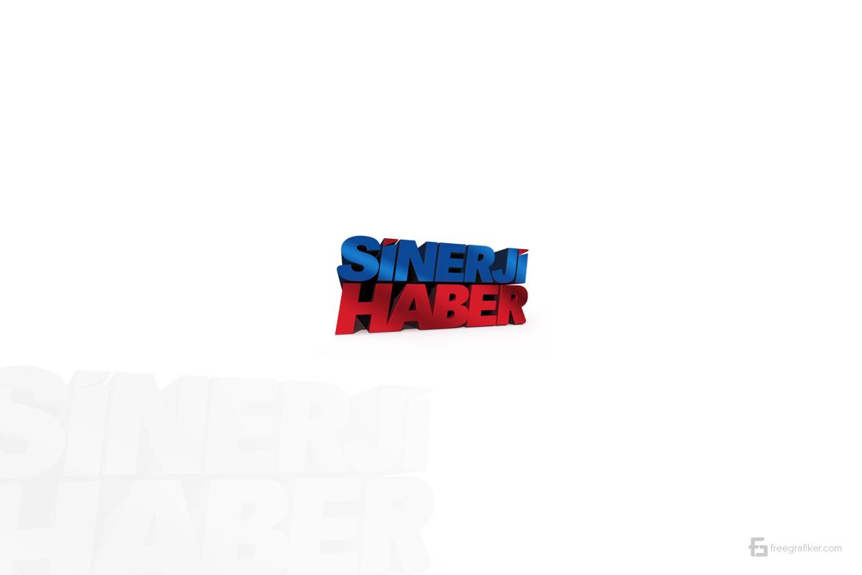 Sinerji Haber Sitesi Logo Tasarım