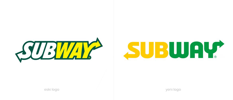 Subway Yeni Logo Tasarımı