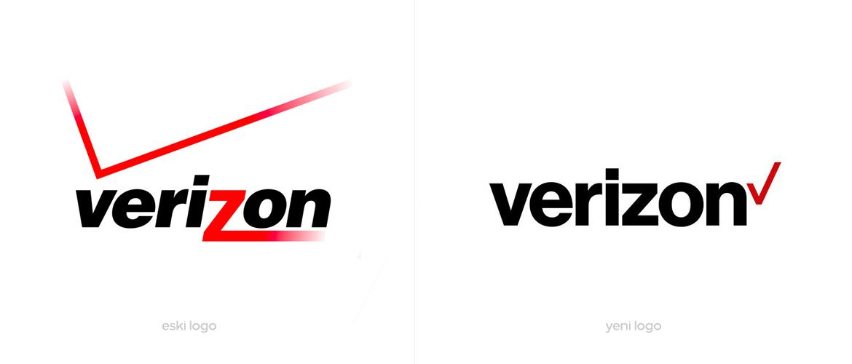 Verizon Yeni Logo Tasarımı
