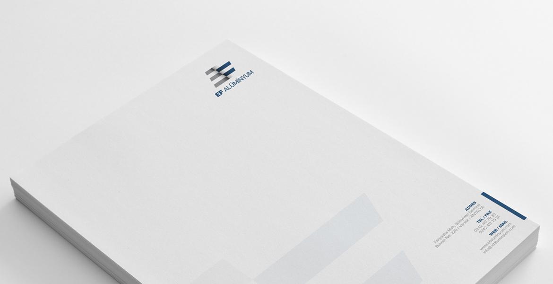Antetli Kağıt Tasarım