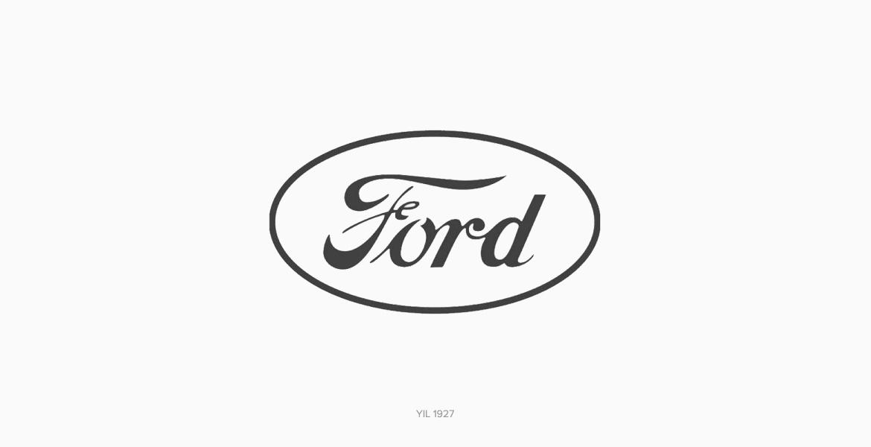 Ford Logo Tasarımı 1927 Yılı