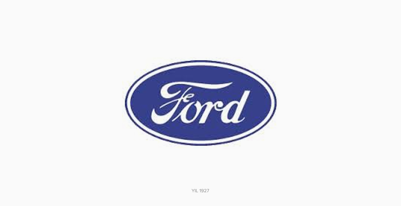 Ford Logo Tasarımı 1927 Renkli