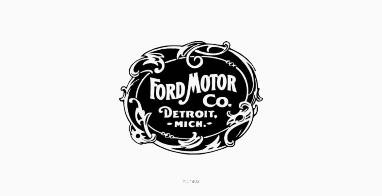 Ford Logo Tasarım Tarihi ve Geçmişi