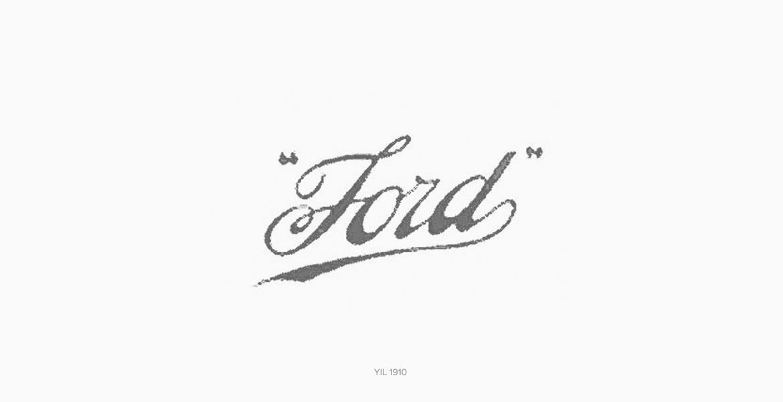 Ford Logo Tasarımı 1907 Yılı