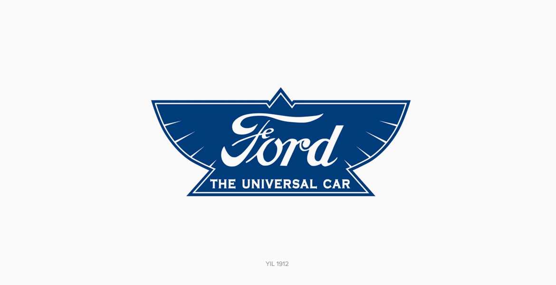 Ford Logo Tasarımı 1912 Yılı