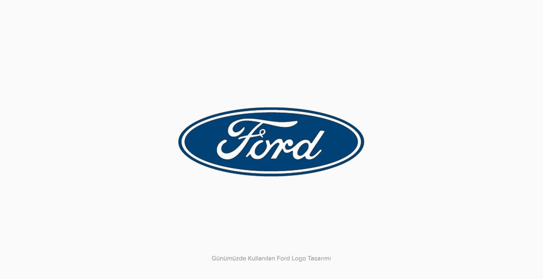 Ford Logo Tasarımı Günümüzdeki Hali