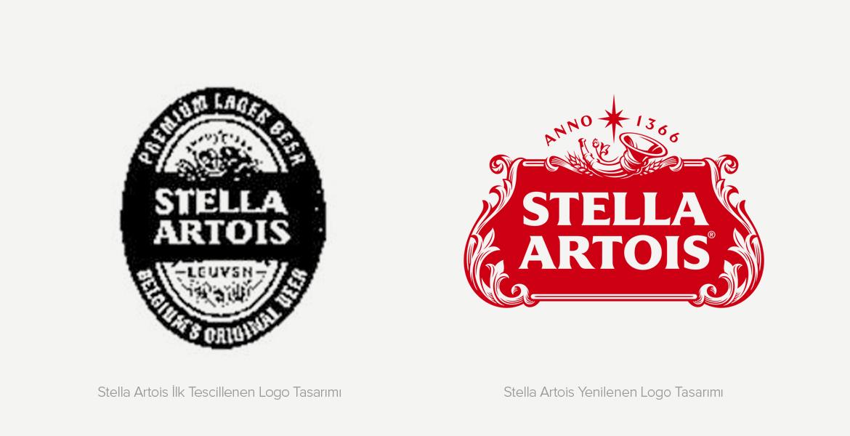 Stella Artois Tescillenmiş İlk Logo Tasarımı