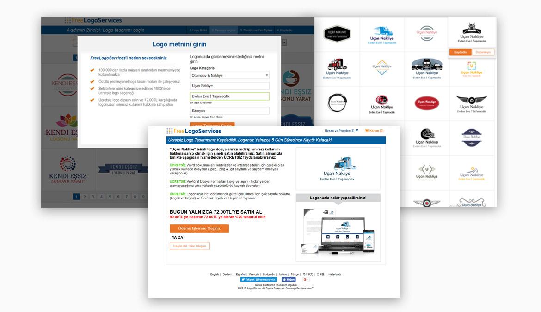 Freelogoservices.com / Ayda yılda bir ücretsiz logo tasarım hizmeti