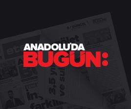 Anadolu'da Bugün Gazete ve Haber Sitesi Logo Tasarım