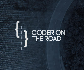 Coder On The Road Logo Tasarım